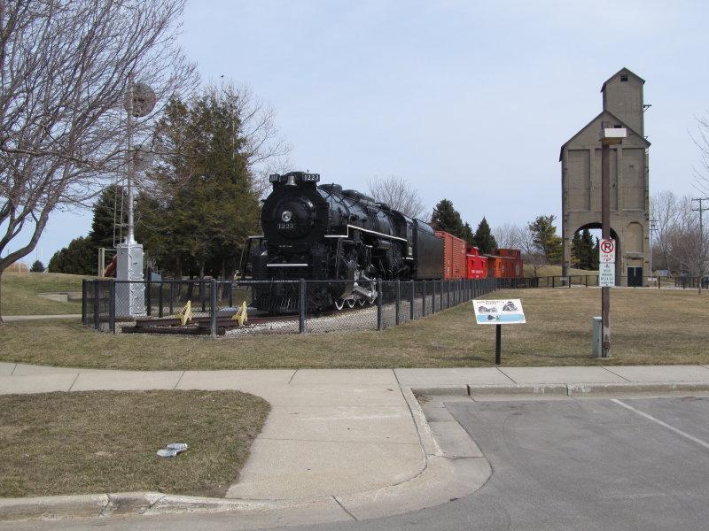 Pere Marquette Railroad museum