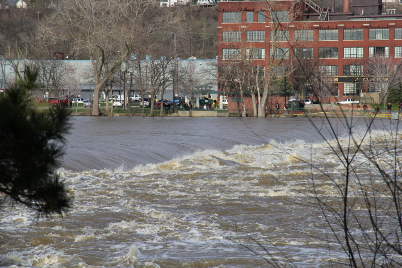 The Grand Rapids flood of 2013
