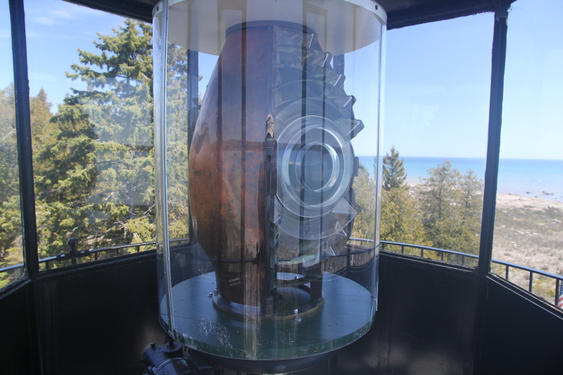 Old Presque Isle Lighthouse light