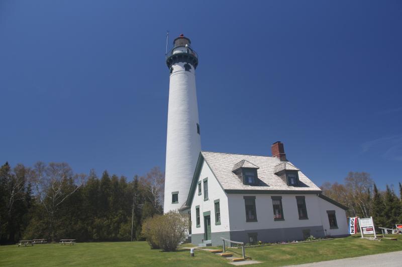 The new Presque Isle Lighthouse