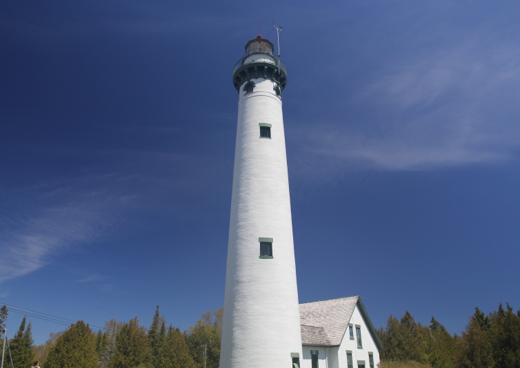 The new Presque Isle Lighthouse