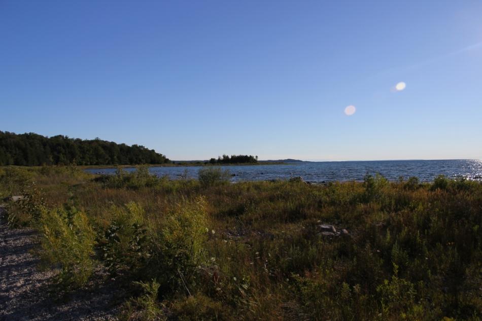 The Lake Michigan side of the Leelanau Peninsula