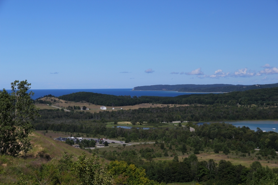 Looking North towards the Sleeping Bear Dune