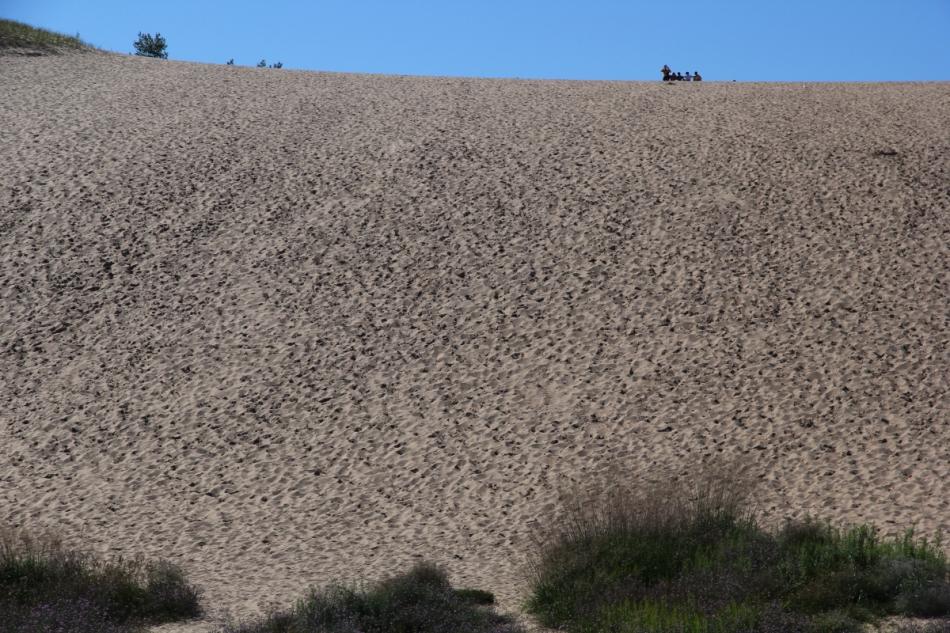 "The ""climbing"" dune"