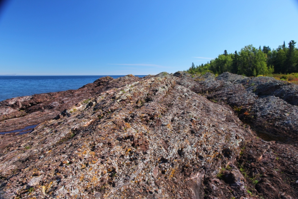 Rocky Lake Superior shoreline