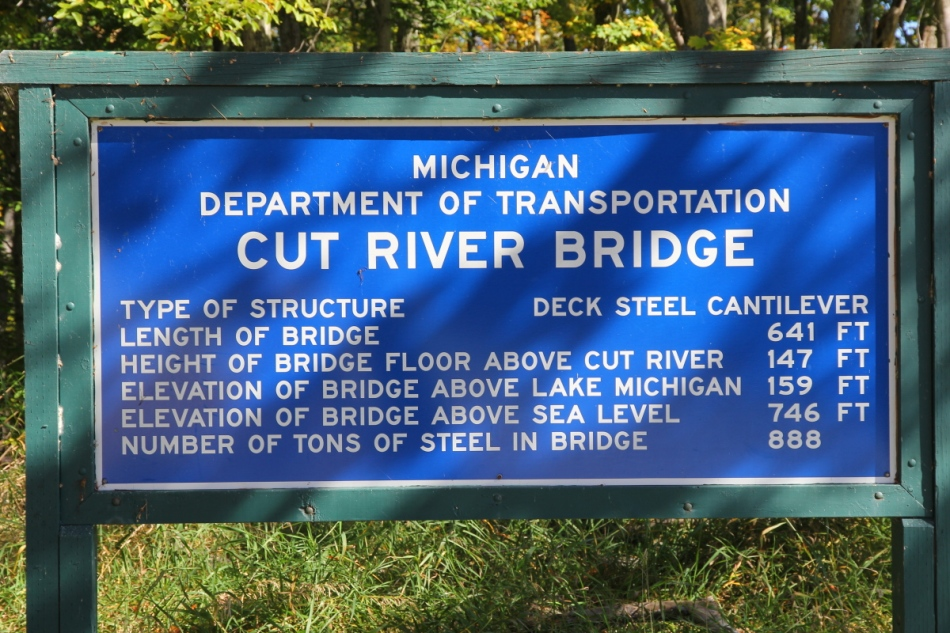 Cut River Bridge facts