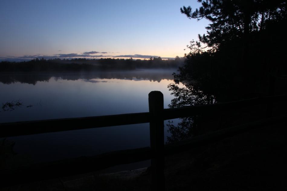 Tahquamenon River sunrise