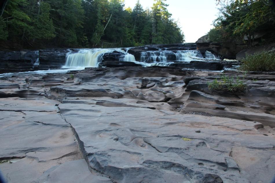 Presque Isle River Falls