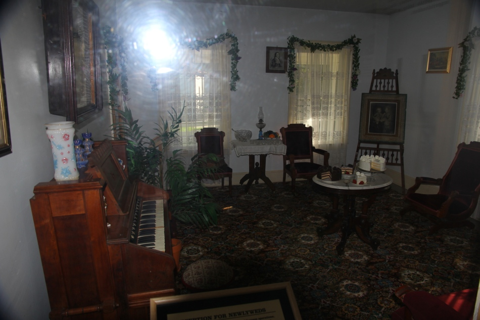 Inside the superintendent's house
