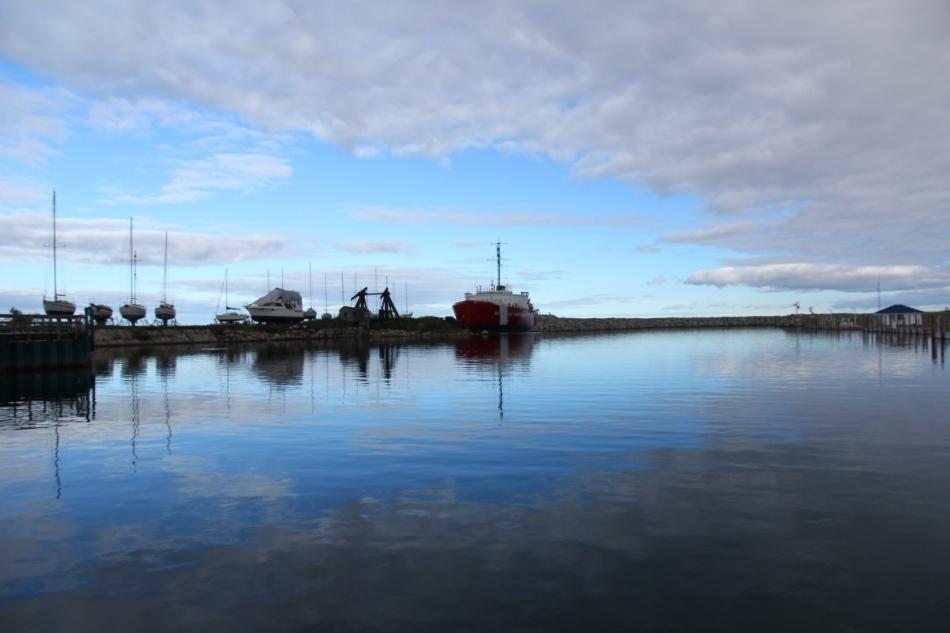 Retired Coast Guard Icebreaker The Mackinaw
