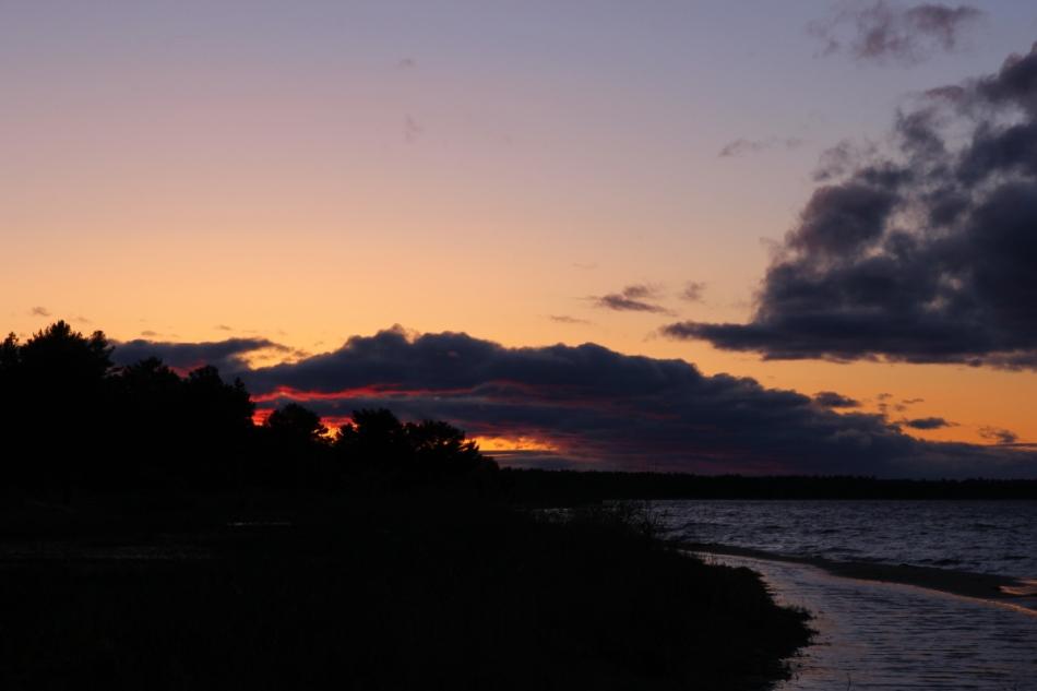 Sunset over Thunder Bay