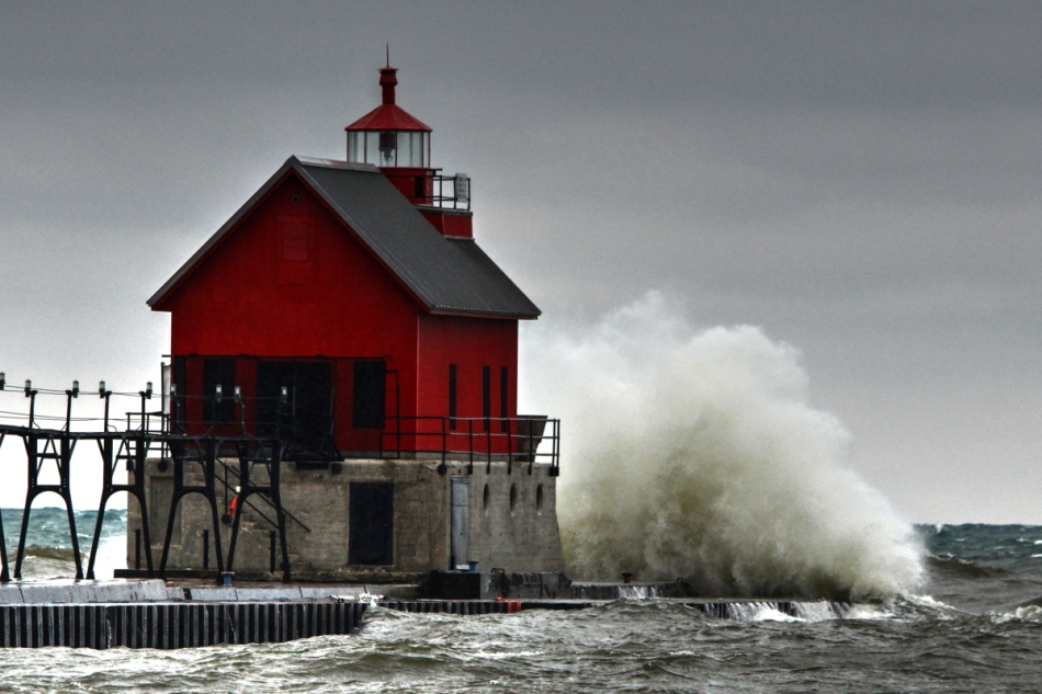 Grand Haven, Michigan lighthouse