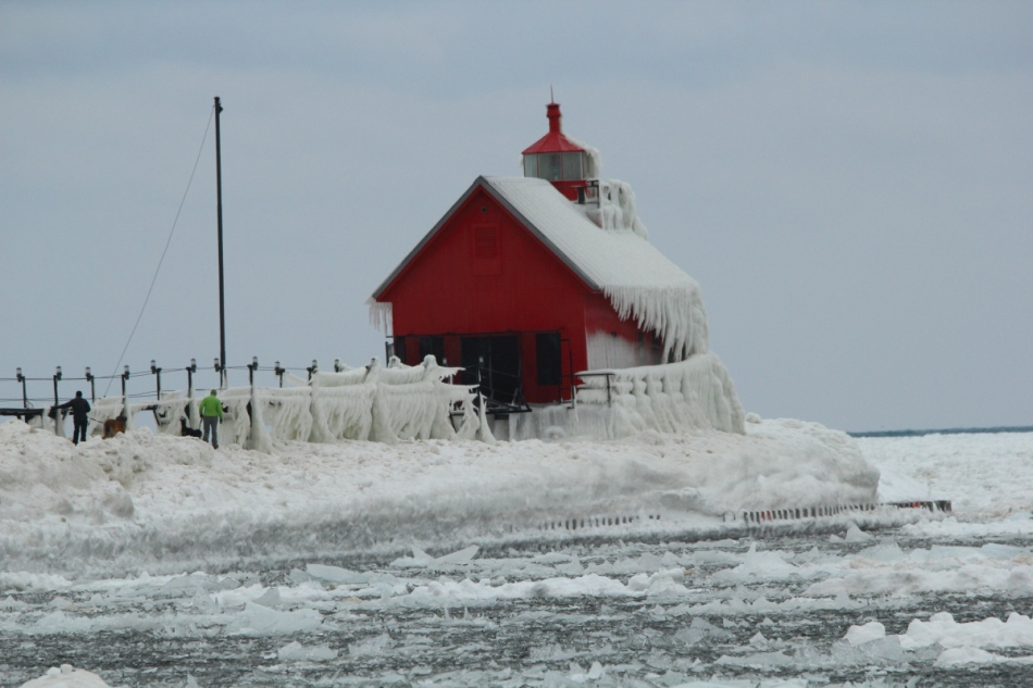 The lighthouse at Grand Haven