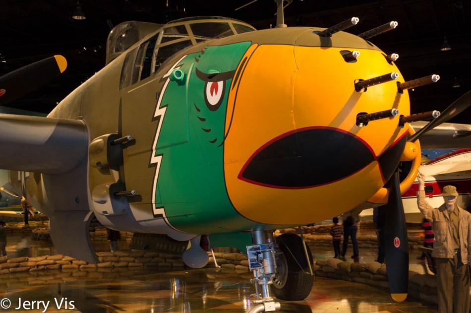 B 25 Mitchell's awesome firepower