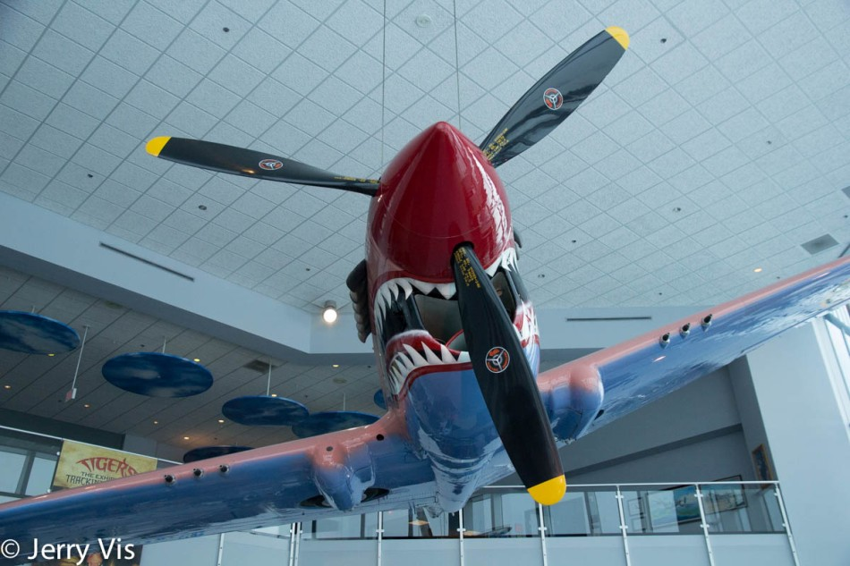 P 40 Warhawk owned by Suzanne Parish