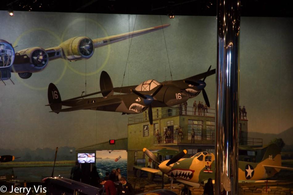Lockheed P-38 Lightning (scale model)