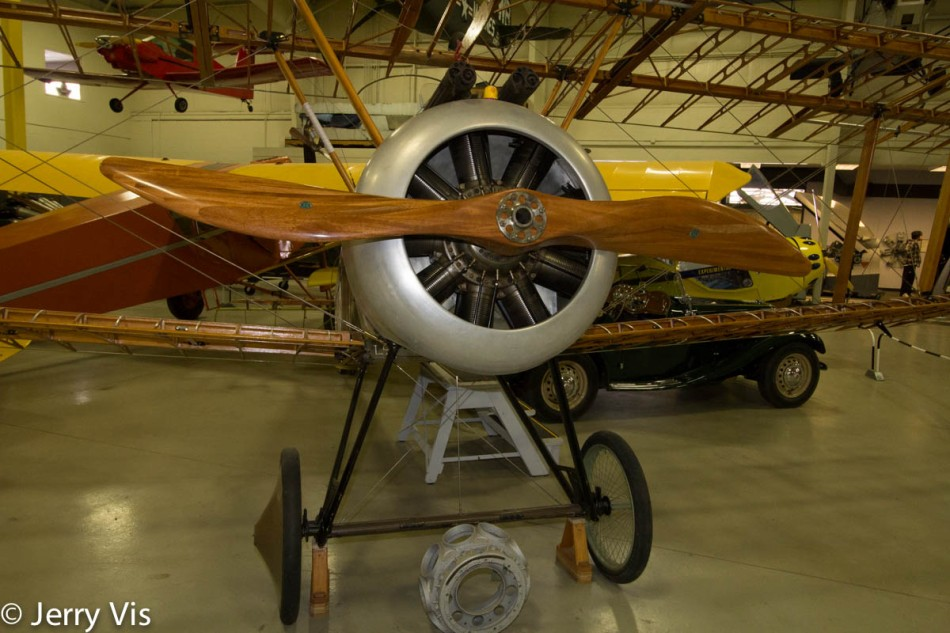 Replica Sopwith Camel in progress