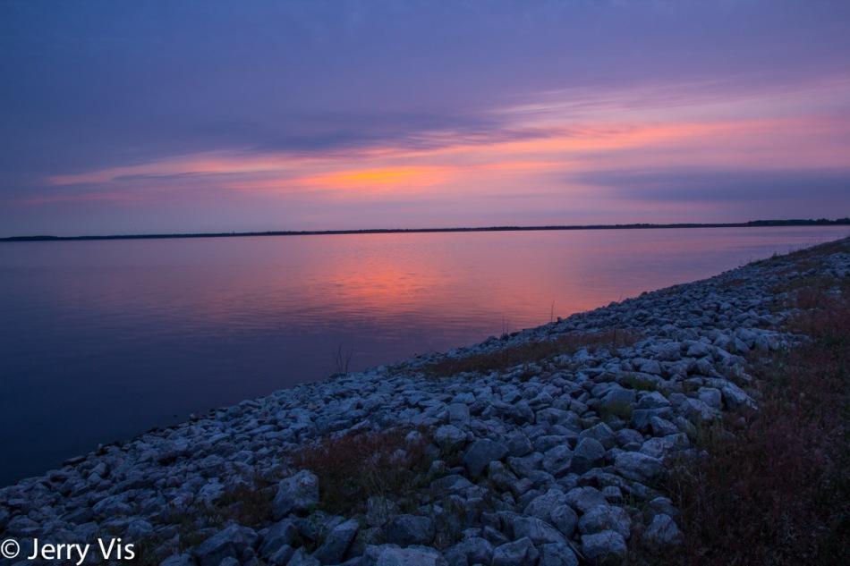 Sunrise at the lagoons