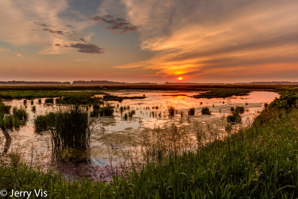 Muskegon marsh sunrise, wrong workflow