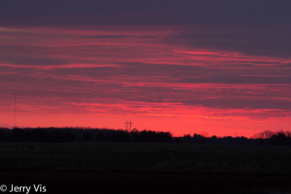 Sunrise at Muskegon