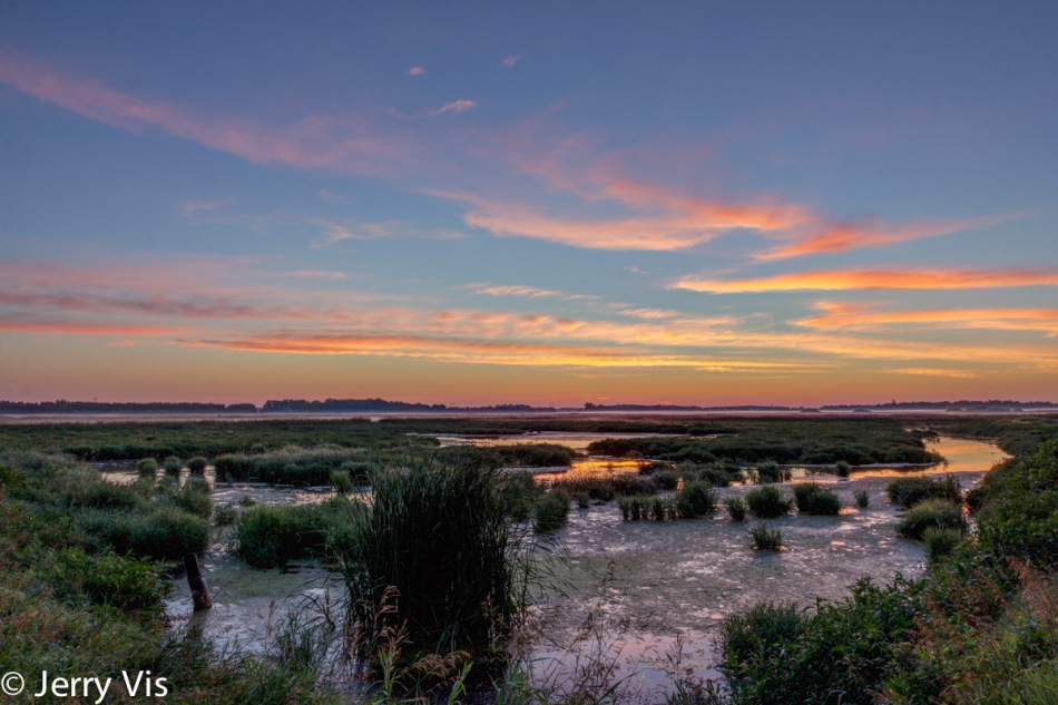Nautical Twilight over my favorite marsh