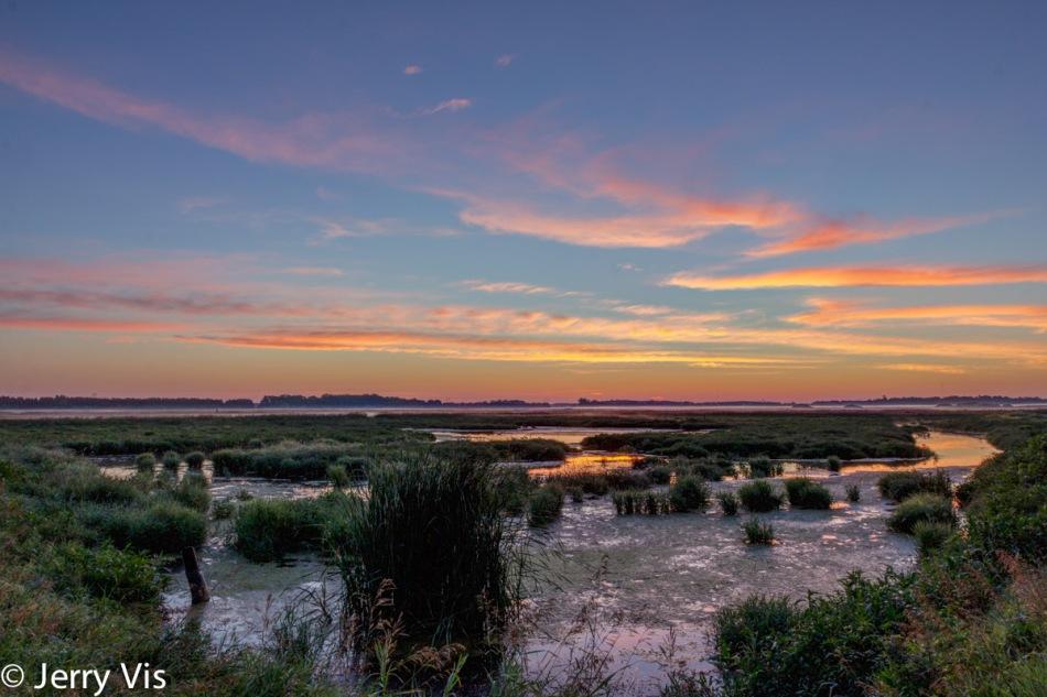 Nautical Twilight over my favorite marsh