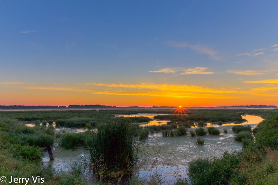 Civil Twilight over my favorite marsh