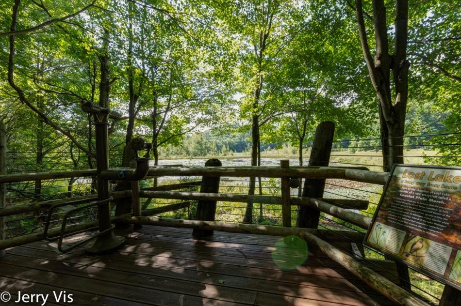 The Lost Lake observation platform