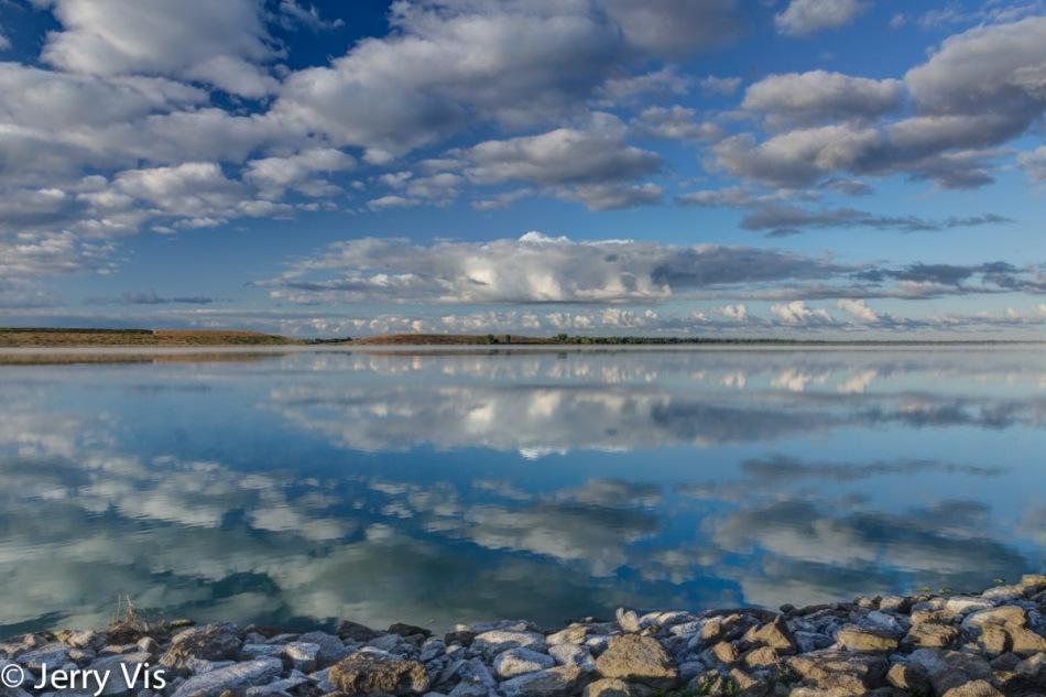 Cloudscape reflections