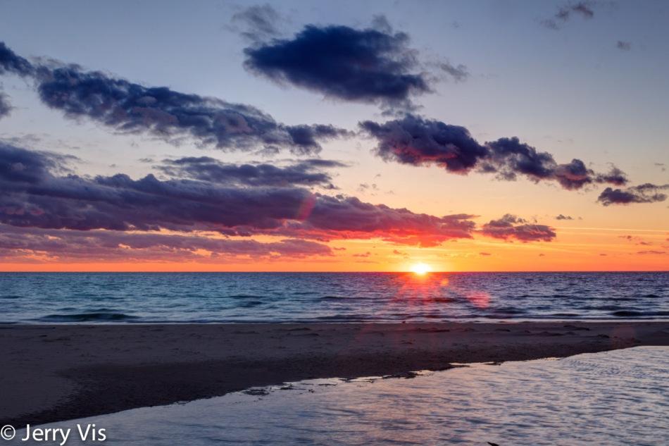 Sunset at Duck Lake