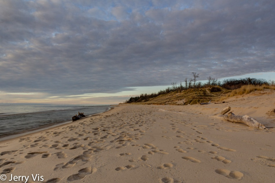 Lake Michigan beach 2