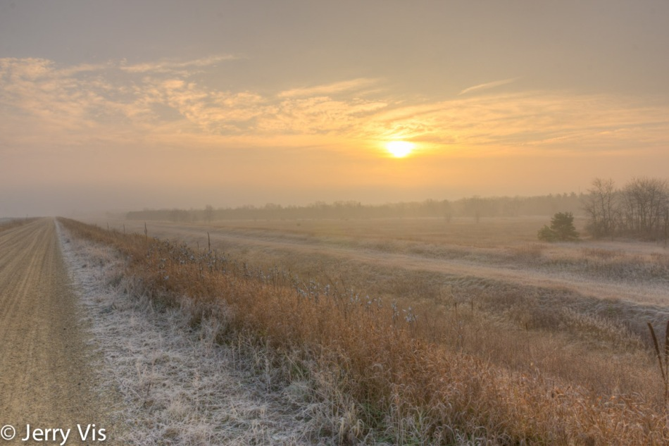 A frosty start to the day