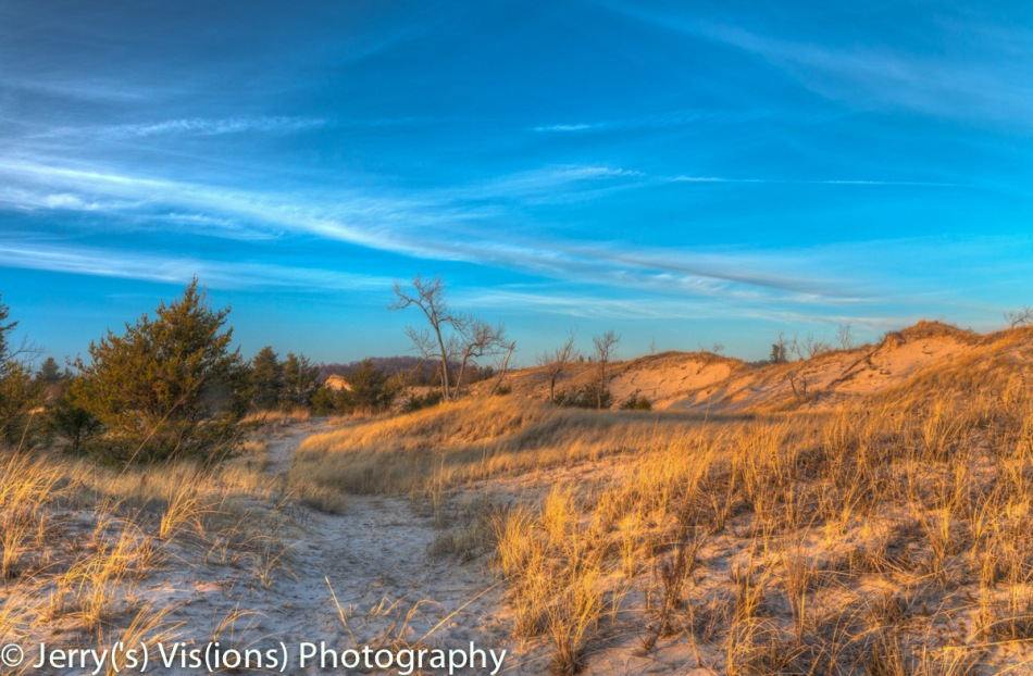 Muskegon State Park dunes