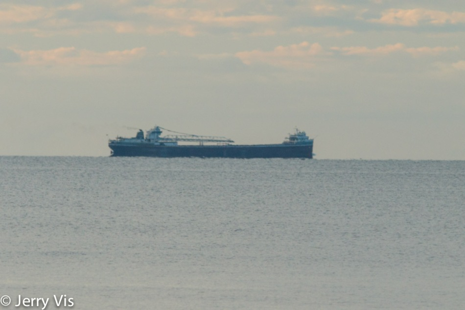 Lake Michigan freighter