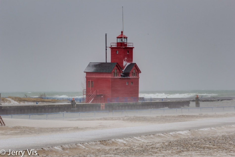 Big Red, the Holland, MI lighthouse