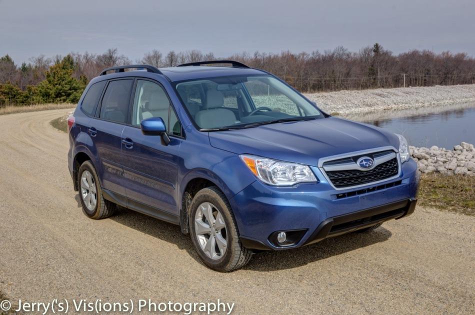 My brand new pretty blue Subaru