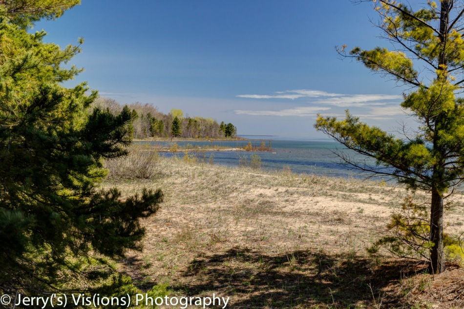 Lake Huron at Negwegon State Park